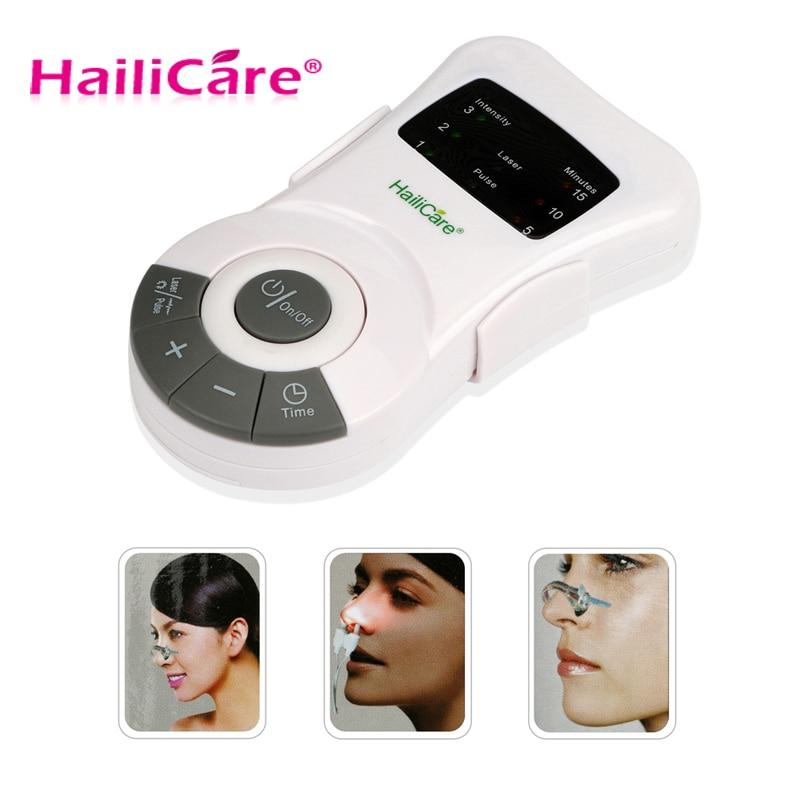 Nouveau soin du nez rhinite thérapie anti-allergie Laser basse fréquence Congestion nasale sinusite ronflement dispositif de traitement masseur