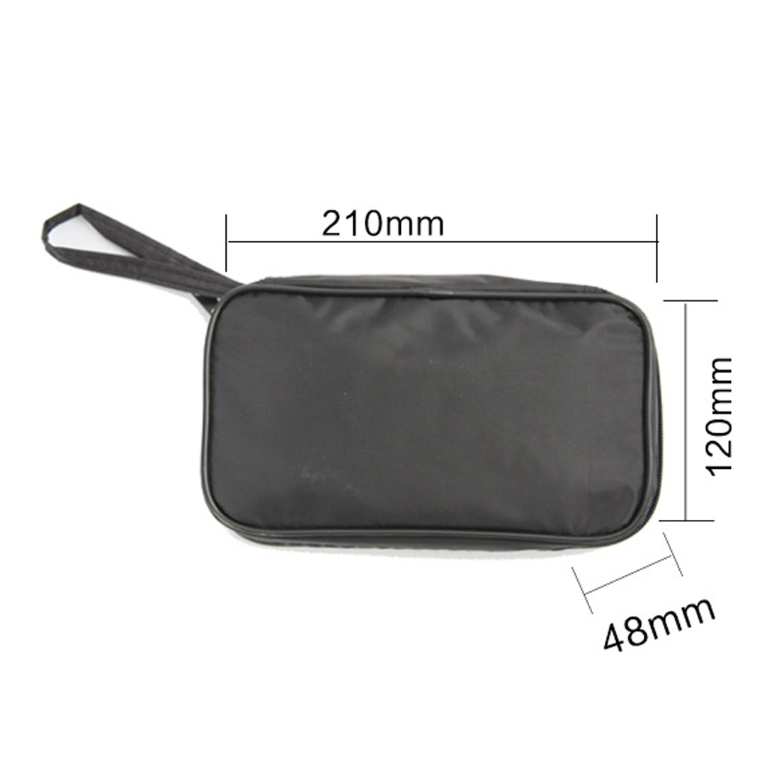 Waterproof Tools Bag Multimeter Black Canvas Bag For UT61 Series Digital Multimeter Cloth Durable20*12*4cm