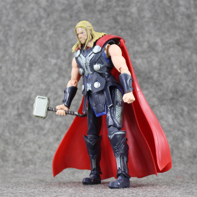 6 16cm super hero shf s h figuarts thor with hammer pvc action
