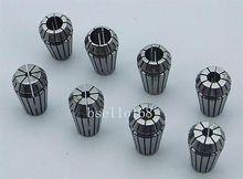 High Precision ER16 collet set 8pcs (3-10mm) CNC collet chuck toolholder