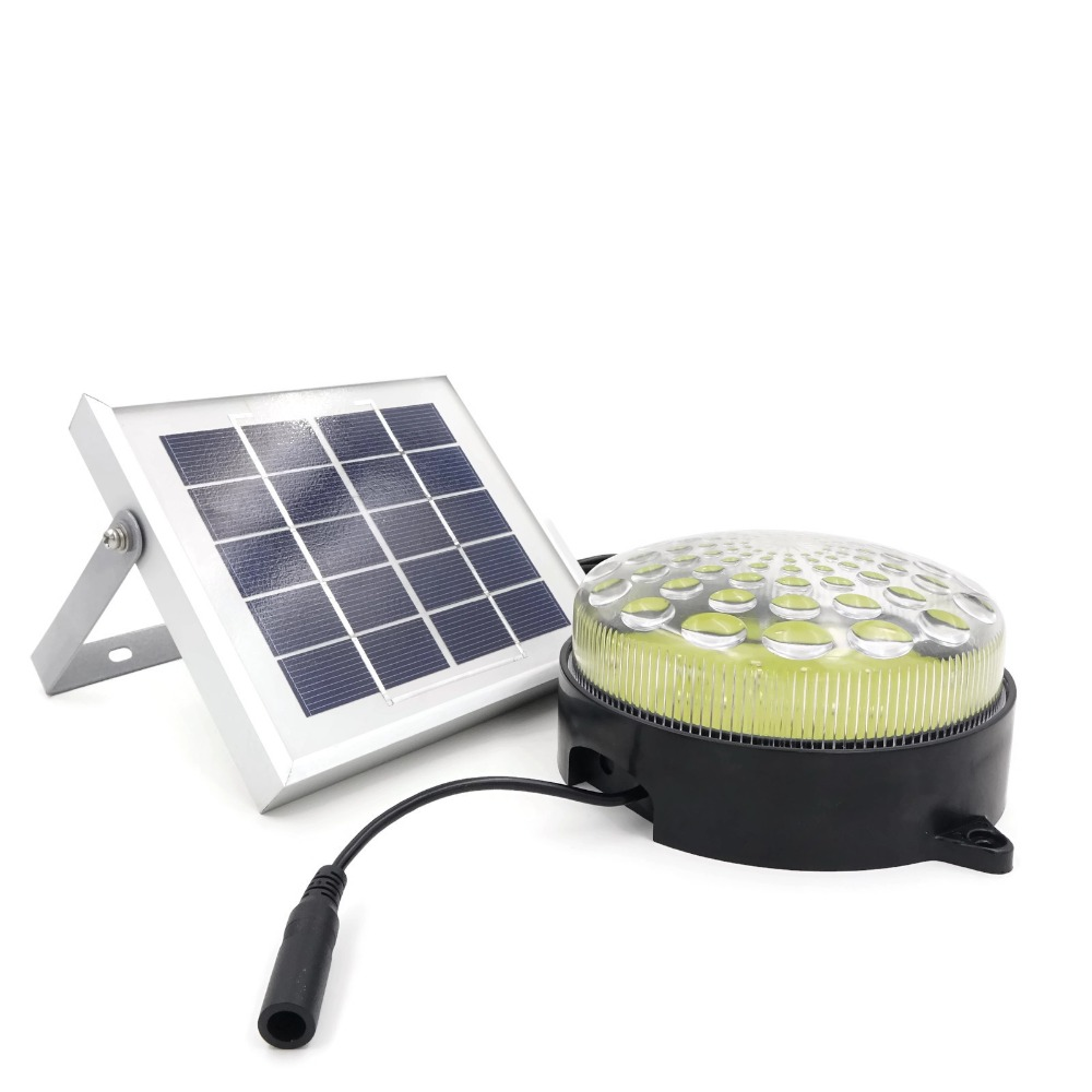 US $31 43 29% OFF|ROXY Outdoor Indoor Waterproof Auto 3 Power Modes Solar  Powered LED Shed Light Kit for Garage / Workshop / Cabin Cool White-in  Solar