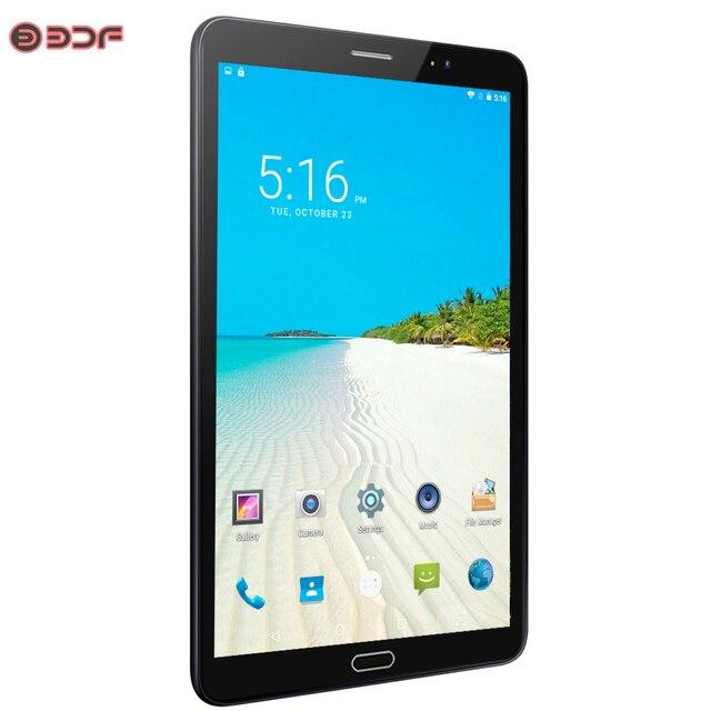 8 Inch Android 6.0 Máy Tính Bảng 3G/4G LTE Sim Điện Thoại Gọi IPS 2.5D Màn Hình Máy Tính Bảng 4 GB/32 GB Ultra HD Camera