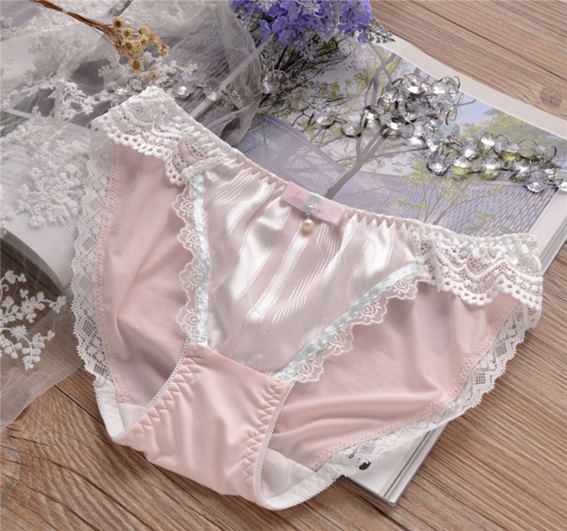 d11cc3d34 High quality underwear women sik silk panties plus size push up satin sexy  women underwear thong