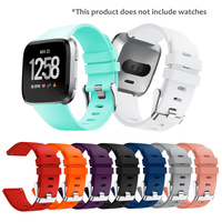 Watch Strap For Fitbit Versa Smart Watch Replacement Wrist Band Silicon Strap Clasp For Fitbit Versa Smart Bracelet Smart Accessories