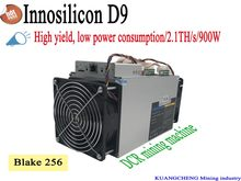Nouvelle collection D9 DecredMaster 2.4TH/S 1000W et FFMiner D18 340GH/S 160W Asic Miner DCR Miner mieux que Antminer Z9 Mini S9(China)