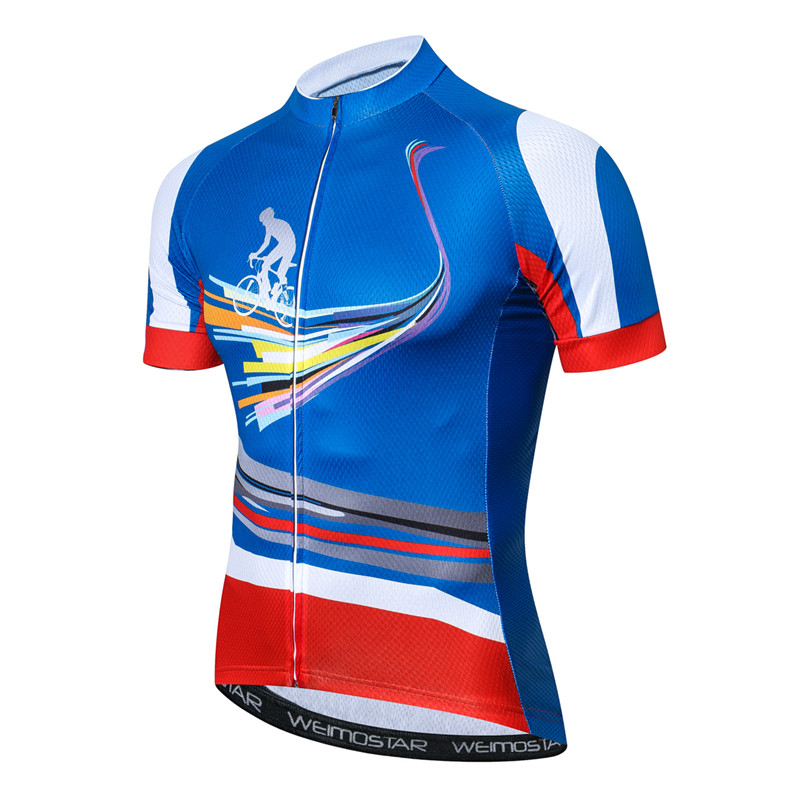 Weimostar Mountain Bike Cycling Jersey Shirt Summer Breathable Cycling Clothing Pro Team MTB Bicycle Jersey Top Maillot Ciclismo 5