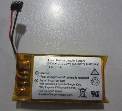 ALLCCX batería de alta calidad 533-000071/AHB521630 para Logitech táctil ultrafina H600 T630