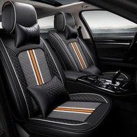 car seat cover Universal auto seat protector mat for alfa 147 156 159 166 romeo giulietta Giulia Stelvio MiTo car accessories