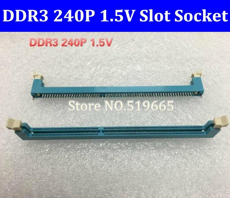DDR3 240P 1.5V Memory Slot Socket For Desktop Computer