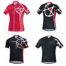 цена на 2019 Gore Summer Cycling Jersey quick dry Mtb Shirt Bicycle Clothing Bike Wear Clothes Mens Short Maillot Roupa Ropa De Ciclismo