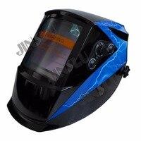 View Area 101*94mm Solar Auto Darkening Welding Helmet TIG MIG MAG MMA Face Mask Electric Welding Cap