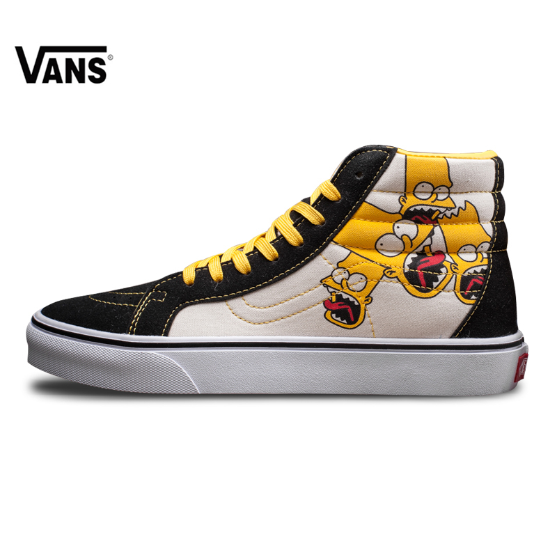 55795068123 Vans Sk8-hi Original Vans Classic Men's Lover's Skateboarding Shoes Old  Skool for Men FS059