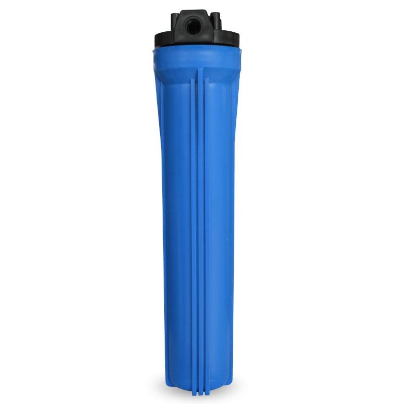 20 inch Blue thickened explosion-proof water purifier housing filter bottle accessories 1 / 2 inch and 3/4'' port water inlet eyki h5018 high quality leak proof bottle w filter strap gray 400ml