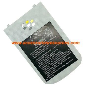 For Battery Door Back Housing Back Panel For Blackberry Bold 9900 Original White Free Shipping