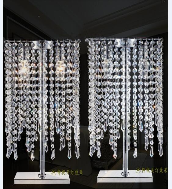 Кристалл сочетание K9 Роскошные простой современный Светодиодные настольные лампы творческий спальня ночники Кристалл Настольная лампа sj80