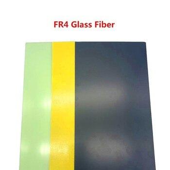 Fibra de vidrio epoxi para aislamiento entre celdas, tablero de fibra de vidrio FR4, 300x170mm X 1mm, de alta calidad 1
