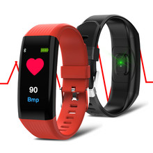 B06 Smart Bracelet Waterproof Bluetooth Heart Monitor Rhythm Band for Android Xiaomi Huawei Phone