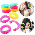 12Pcs Magic Donuts Sweet Round Hair Roller Large Size Bendy Curler Hairdresser DIY Tool For Women Hair Accessories
