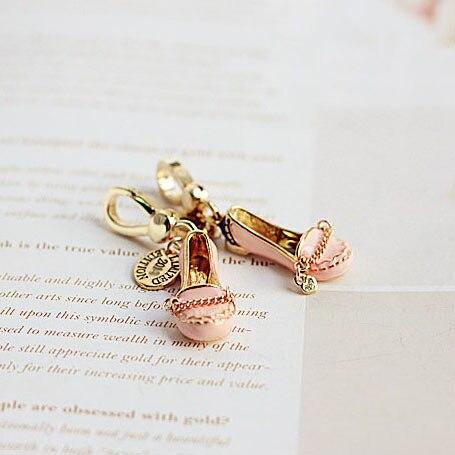 Новый розовый обуви очарование на сумочку Подвеска для Для женщин Jewelry брелки