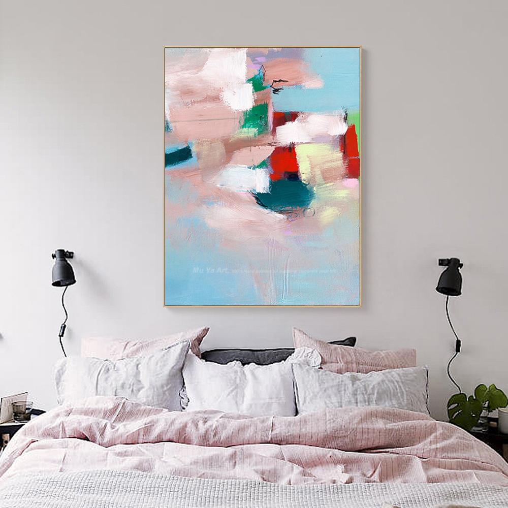 vintage pinturas abstractas modernas fotos lienzo arte de la pared pintura al leo pintada a mano