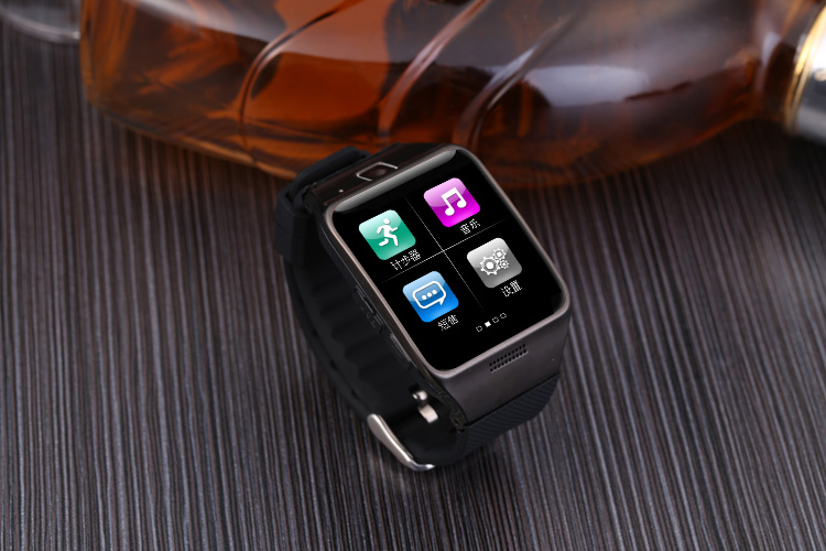 Two LG128 Smart Watches 1 3 Million Camera Blood Pressure Oxygen Heart Rate Meter Step Calorie