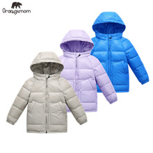 New 2019 Winter jacket boys clothing children jackets for girls coat waterproof boy winter clothes toddler 2-8 years snow wear