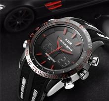Men Watches Famous Luxury Brand Multifunction Quartz Clock Digital Watch LED Army Military Sport Watch Male relogio masculino