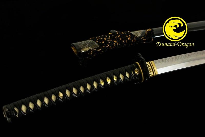 Handmade Top Shihozume Japanese Samurai Katana Sword Battle Ready Razor Sharp Full Tang