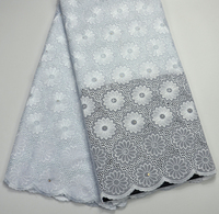 Latest High Quality Pure White Swiss Dry lace For Nigeria wedding Baby lace