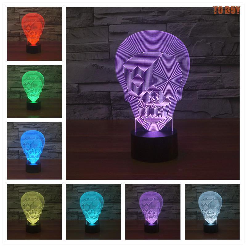 3D Led Night Light Christmas Lights Children Lamp Shades For Table Lamps Living Room