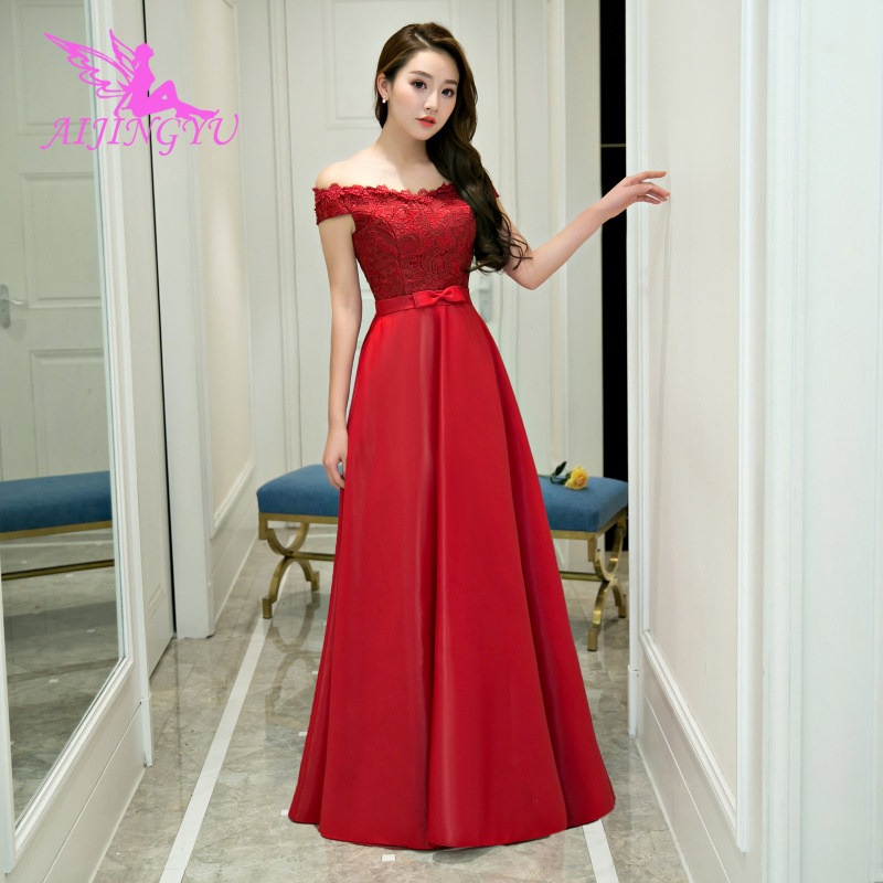AIJINGYU Sexy Long Sleeve Evening Dress Party Gown 2018 Women Elegant Formal Special Occasion Dresses Fashion Ball Gowns FS133(China)
