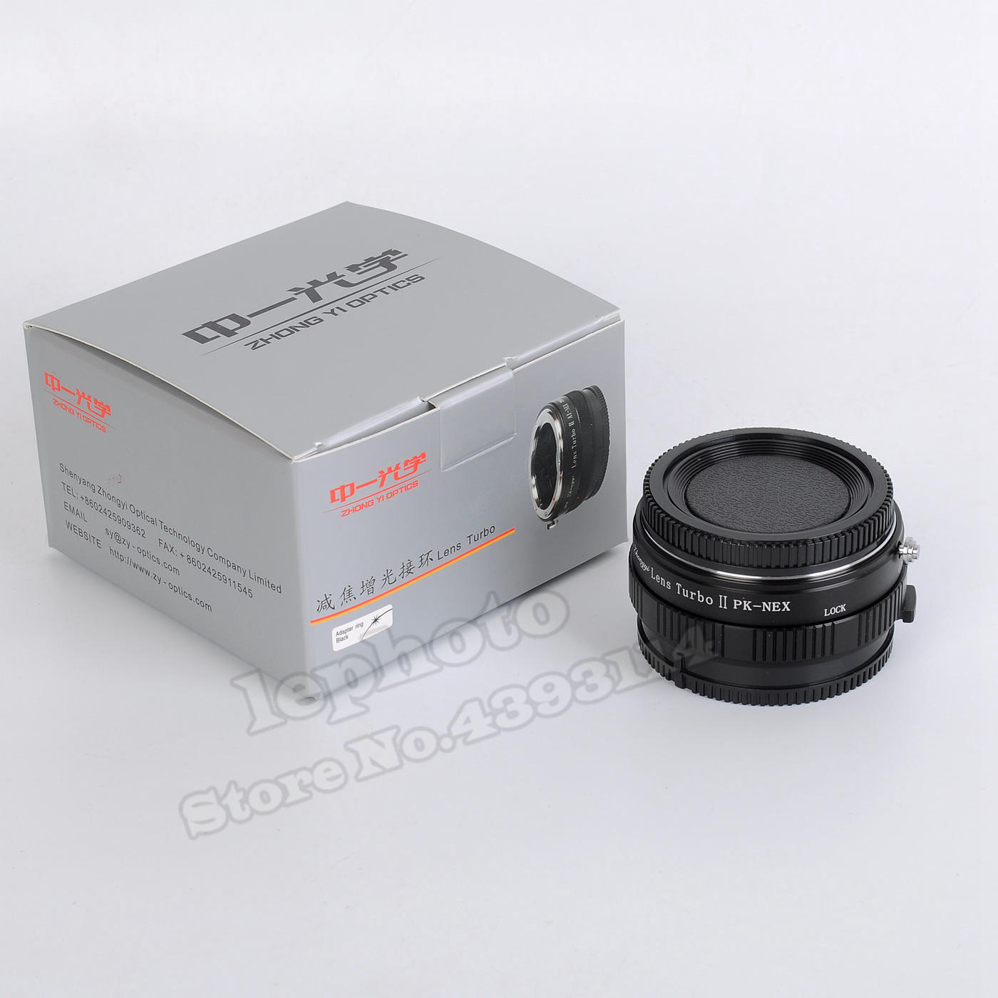 Mitakon Zhongyi Lens Turbo II Focal Reducer Booster Adapter for Pentax K PK Mount Lens to