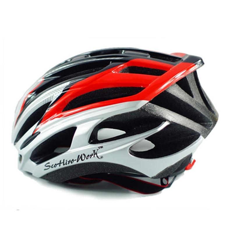 Mens Adults Ultralight In-molded Cycling Helmet M L 54-61cm MTB Road Mountain Bike Helmet Bicycle Casco Ciclismo Bici Women