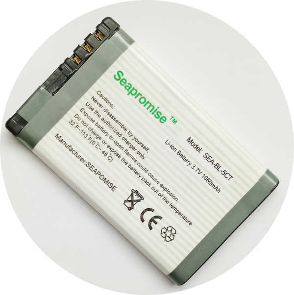 SEAPROMISE retail battery BL-5CT BL5CT for Nokia Nokia 5220 XpressMusic,5630 XpressMusic,6303 classic Illuvial, 630