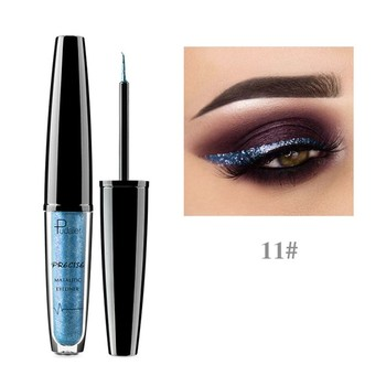 Pudaier New Makeup Shiny Eye Liner Cosmetics Waterproof Silver Gold Red Shimmer Long-lasting Eyeliner Liquid Glitter Makeup Eyeliner