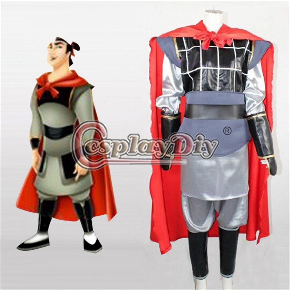Aliexpress.com : Buy Cosplaydiy Mulan Li Shang Cosplay ...