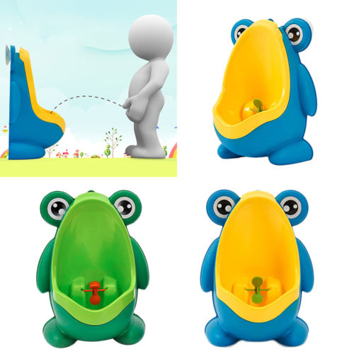 3f9fa269ac85d Foryee Cute Frog Potty Training Urinal For Boys With Funny Aiming Target  Furniture Toys