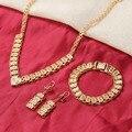 Bangrui mais novo barato jóias de ouro meninas Dubai conjunto de jóias de ouro Turca Egípcio Argélia Marrocos Arábia jóias de ouro Indiano