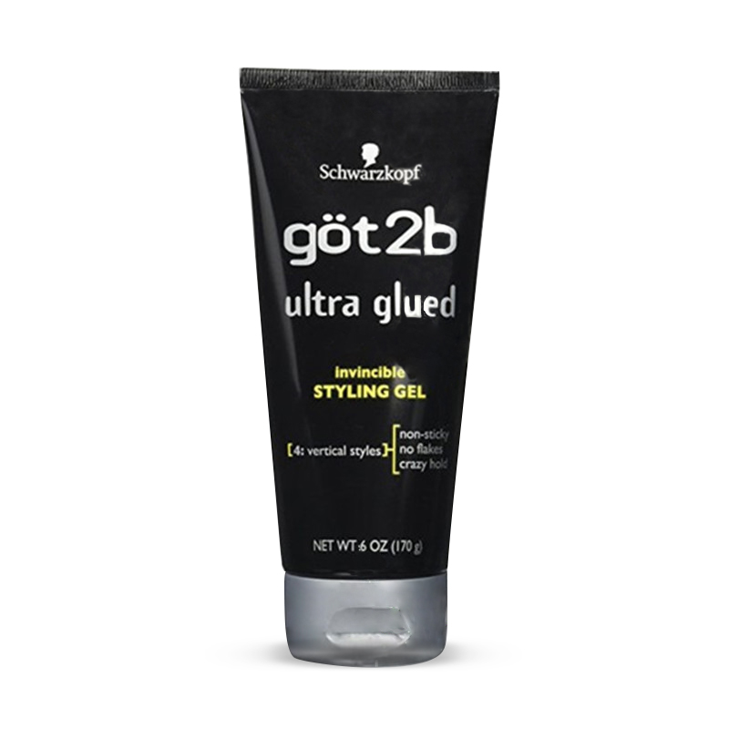 Free Shipping Got 2b Ultra Glued Invincible Styling Hair Gel, 35g /170g