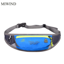 Free Shipping Waterproof Waist Pack For Men Women Casual Functional Fanny Pack Hip Money Belt Travel Mobile Phone Bag WUP107