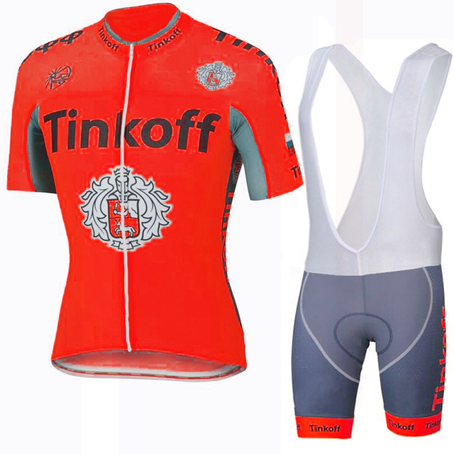 Sport Saxo Bank Racing Bike Sportswear Breathable Cycling Clothing Ropa  Ciclismo Quick-Dry Bicycle Jerseys Sport Cycling Jersey b80ad32e4