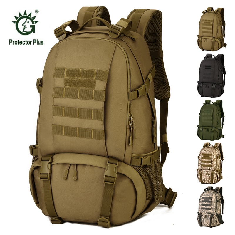 Tactical Backpack 40L Large Capacity Military Bags Waterproof Travel Hiking Backpack Camouflage Double Shoulders Outdoor Bag backpack shoulders male backpack bag camouflage large capacity 50 l computer military waterproof backpack travel free holograms