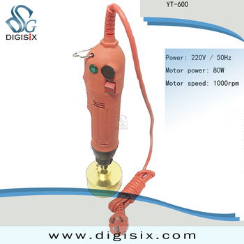 The hand-held electric Capping Machine for mineral water beverage bottle capping machine YT-600
