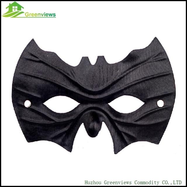 Preto Halloween Máscara Do Partido De Cosplay Morcego Morcego