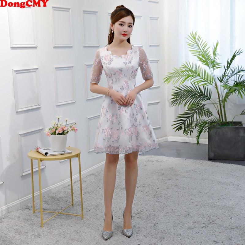 Weddings & Events Schöne Mädchen Rosa Einfache Formale Puffy Kleid Kurz Graduation Süße 16 Formale Kleider Mit ärmeln Für Hohe Schule H4296
