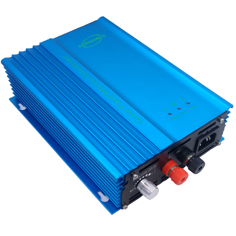 500W Grid tie inverter 24V Battery discharge Battery energy For battery 24v Adjustable Power Output pure sine wave inverter dc free shipping 600w wind grid tie inverter with lcd data for 12v 24v ac wind turbine 90 260vac no need controller and battery