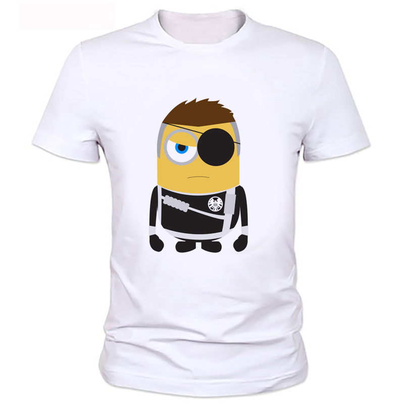 The one-eyed pirates cartoon series of men's T-shirt Super hero series fashion printing T-shirt The boy for summer T-shirt 112#