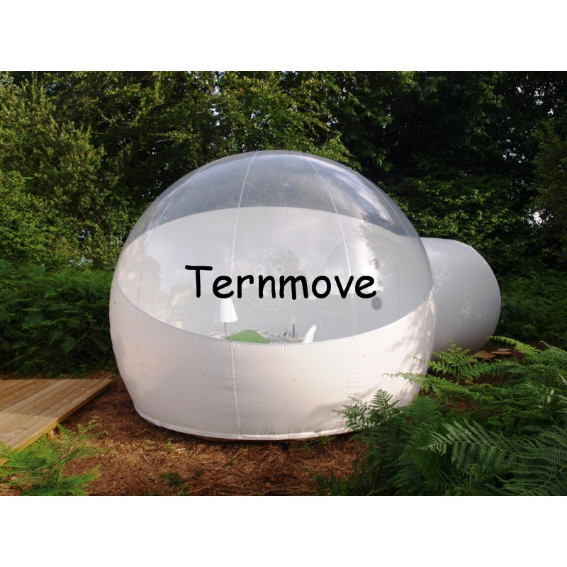 inflatable bubble room tent for night in nature,inflatable dome tent family travel,Inflatable Hiking Tents Bubble House Hotel personal activity inflatable mobile pub tent for family party use