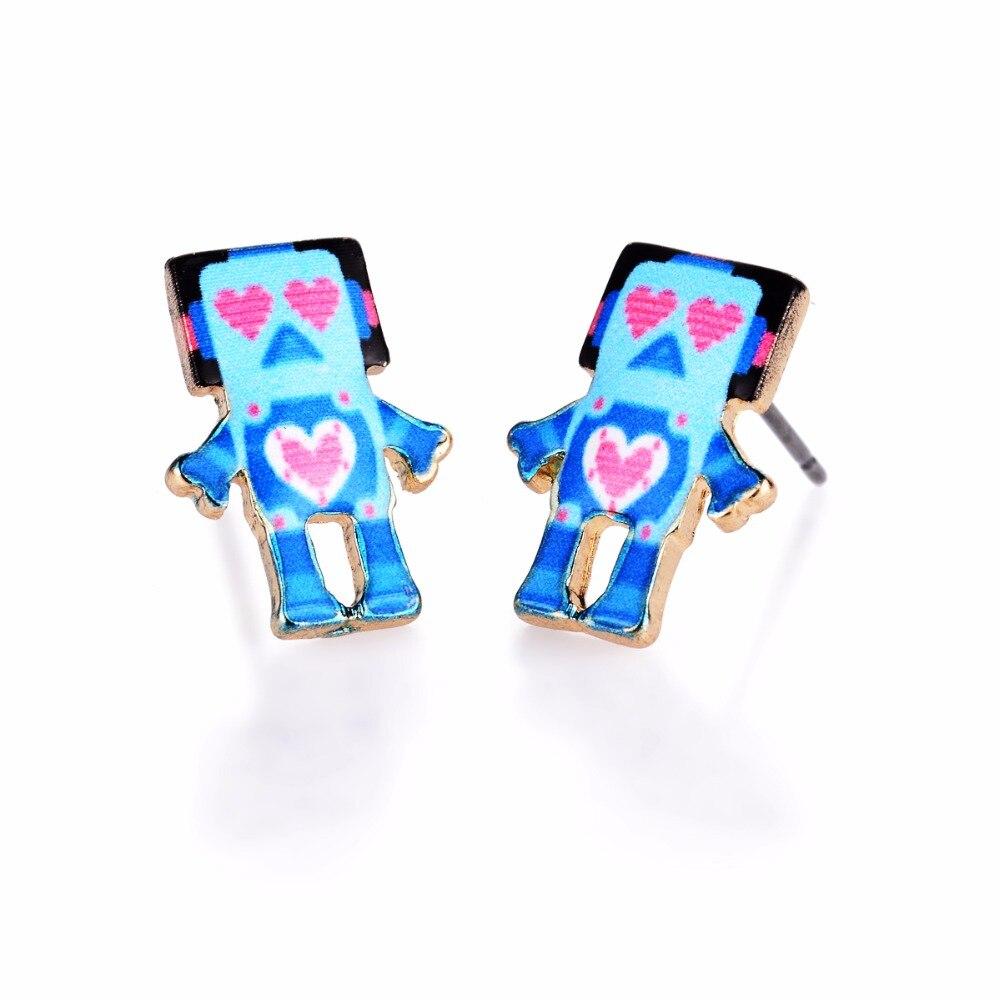 Jisensp Dirancang Stud Earrings Untuk Persahabatan Kekasih Hati