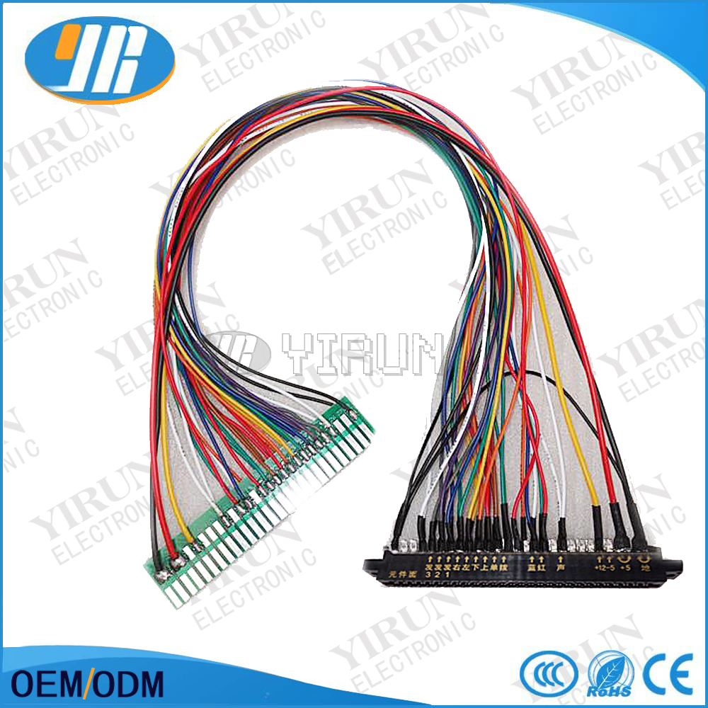 28 pin jamma extension wires wire harness jamma arcade machines jamma harness extenderarcade accessoriesextended wirecableparts for arcade game freerunsca Gallery